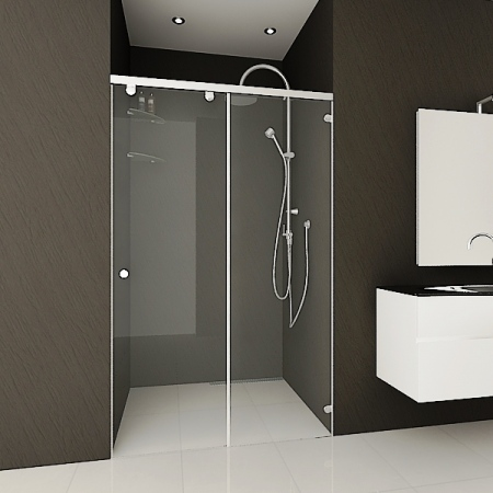 Shower screen London Chrome Plus