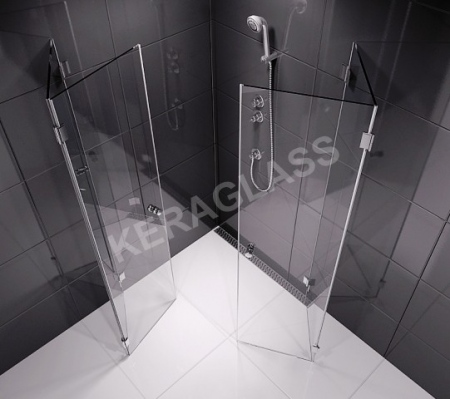 Folding shower enclosure PARIS 