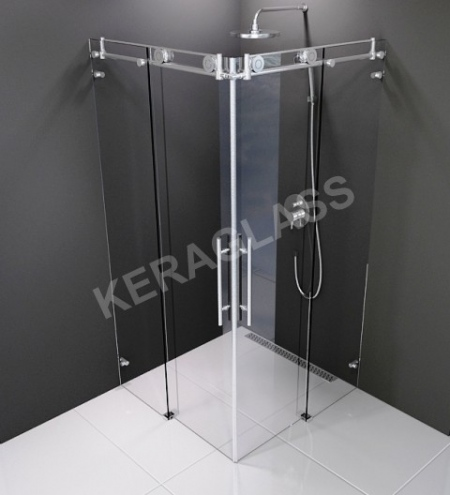 Shower enclosure Kopenhagen *INOX*
