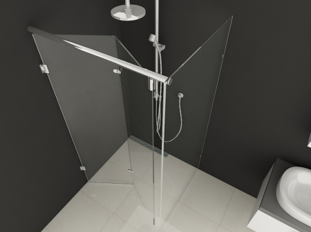 SHOWER ENCLOSURE MOSCOW-NEW MODEL