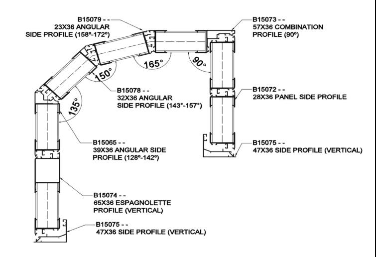 Система за остъкляване на тераси Крит 1 Термо