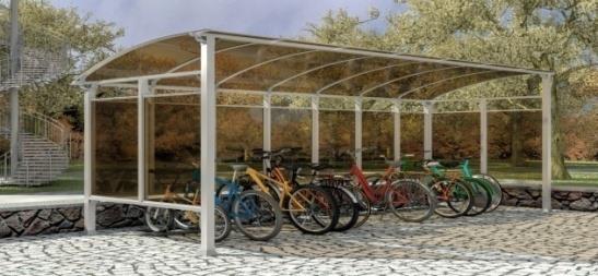 Навес за велосипеди TF - Bike